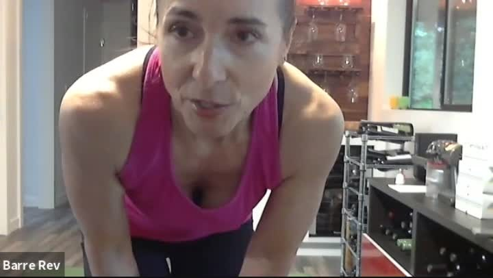 Recorded Livestream 45min Rev HIIT Circuit w/ Michelle