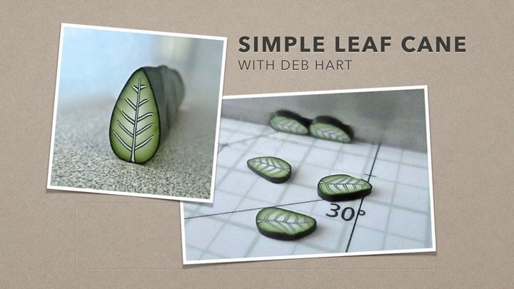 Simple Leaf Cane
