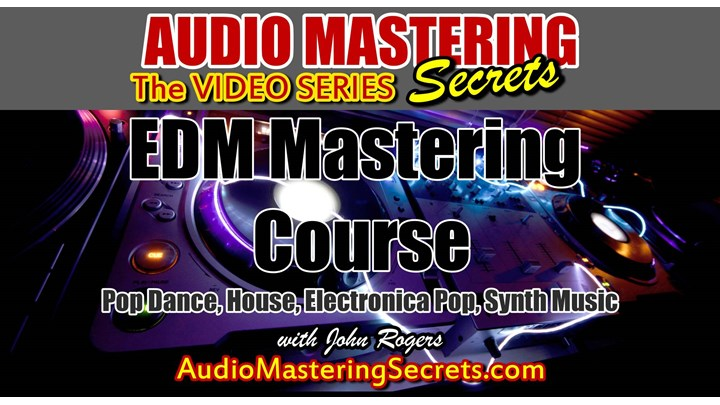 Best EDM Mastering Course