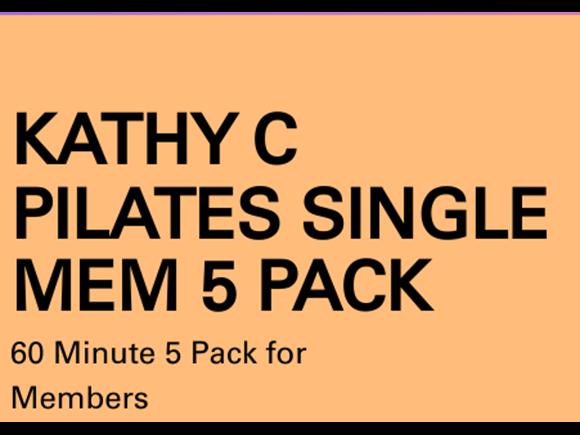 Pilates Mem 5 Pack Solo Sessions