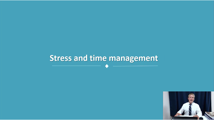 10/12 Developing Leadership Skills: Stress and Time Management