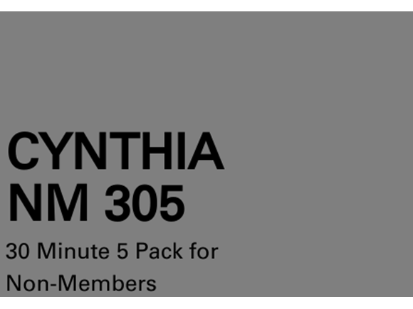 Cynthia NM 5 Pack 30 Minute Sessions