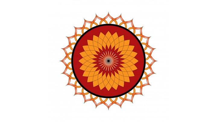 Yoga Sun Salutation Mandala I