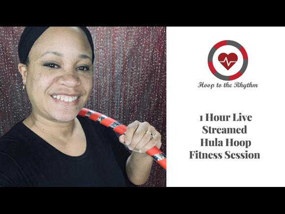 60 Minute Hula Hoop Fitness Session