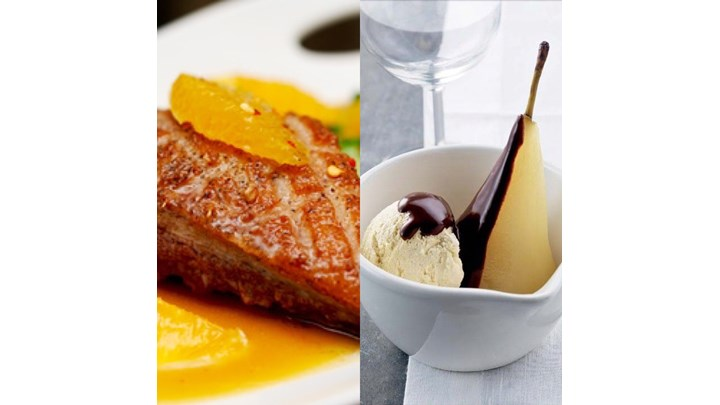 Duck A L'orange- Pear Belle Helene