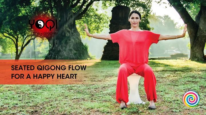 SEATED HAPPY HEART