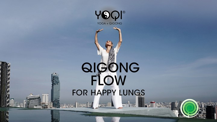 (NO MUSIC) QIGONG FLOW FOR HAPPY LUNGS