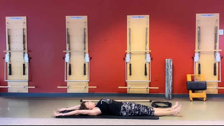 Virtual Mat Pilates  #12    6/15