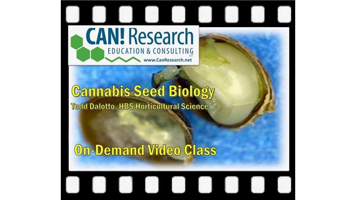 Cannabis Seed Biology Class