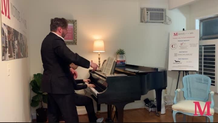 Piano Lesson with Thomas Pandolfi (Part 1, Chopin Concerto, 1st mvt)