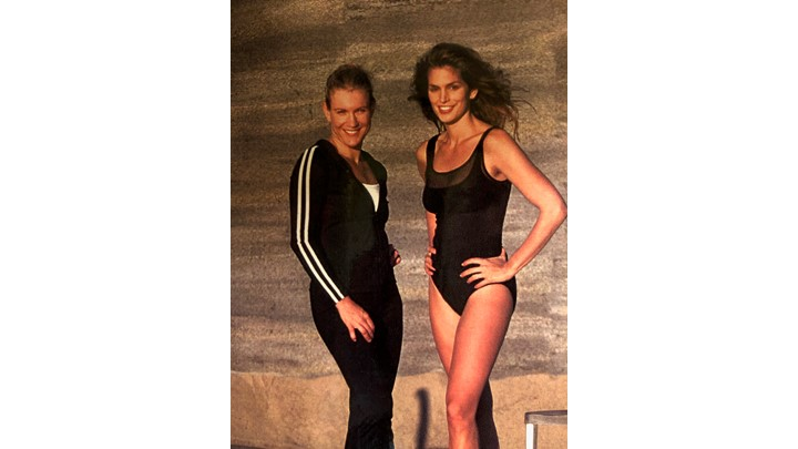 Kathy and Cindy A New Dimension Workout  continued...