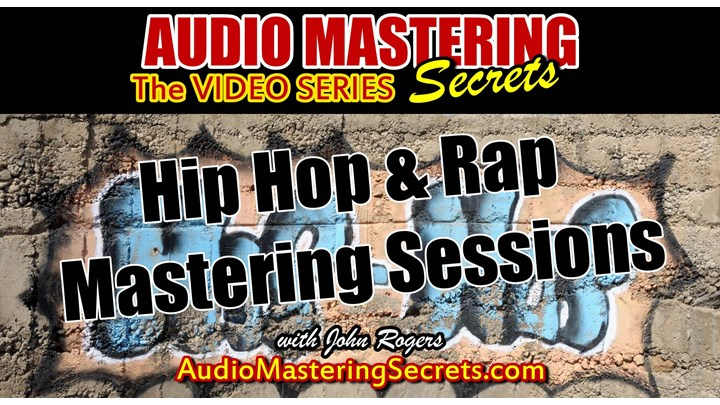 HIP HOP & Rap Mastering Step by Step Sessions (3 Songs)
