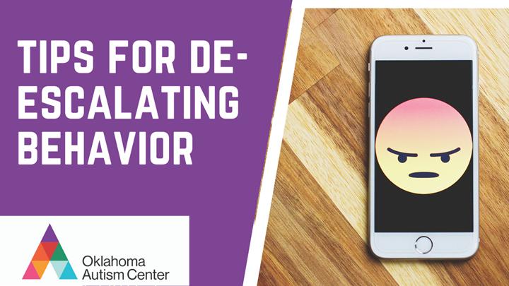 Tips for De-Escalating Behavior