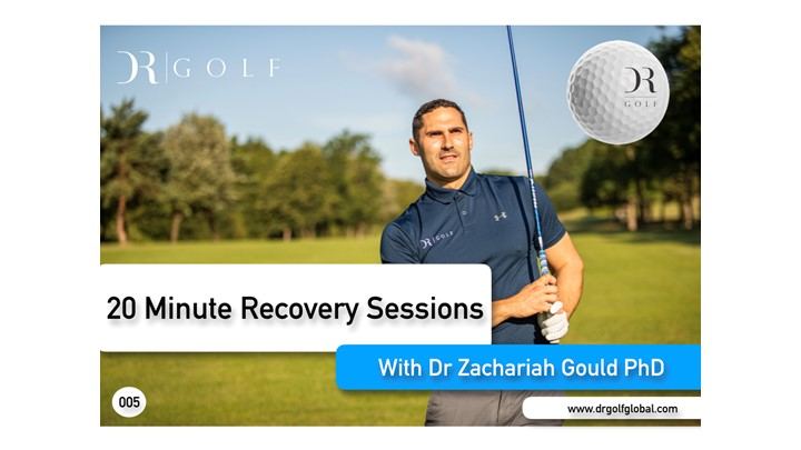 20 Minute Golf Recovery