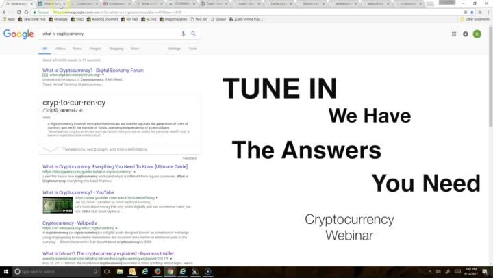 Cryptocurrency Webinar (V2)
