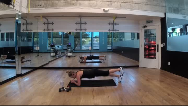 Fitness Bite 6 - Arms & Abs - 20 minutes - Ginny