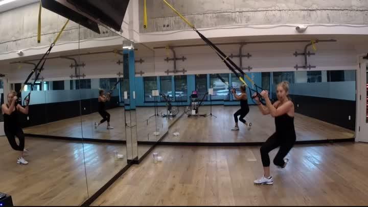 Fitness Bite 8 - TRX Tabata - 20 minutes - Ginny