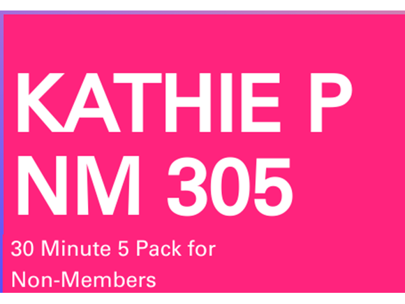 Kathie NM 5 Pack 30 minute sessions