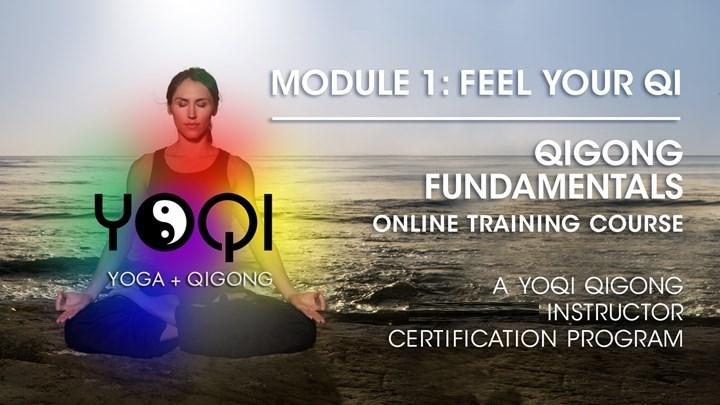 YOQI MODULE 1 COURSE: FEEL YOUR QI