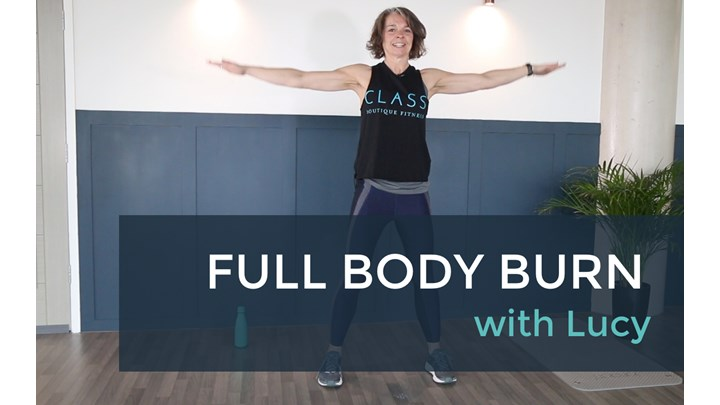Full Body Burn (27min) with Lucy