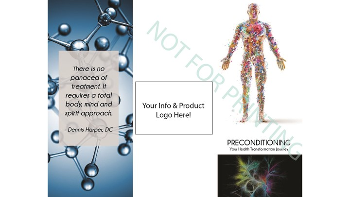 Customized Preconditioning or Stem Cells Brochures
