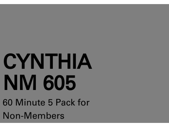 Cynthia NM 5 Pack 60 Minute Sessions