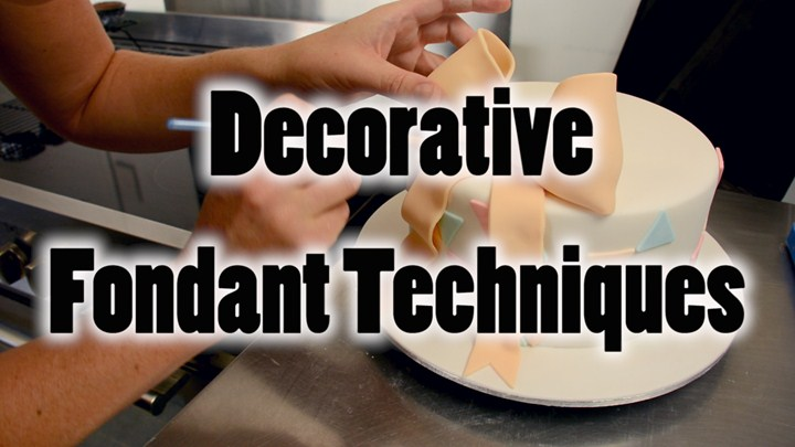 Decorative Fondant Techniques