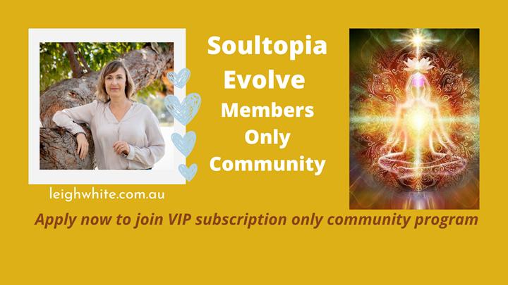 NEW! Soultopia Evolve Membership CommUnity